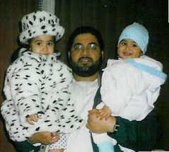 Shaker Aamer with his children