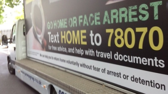 'Go home or face arrest'